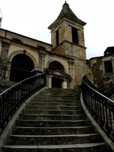 Scalinata Santa Maria delle Scale Ragusa Ibla Patrimonio Unesco