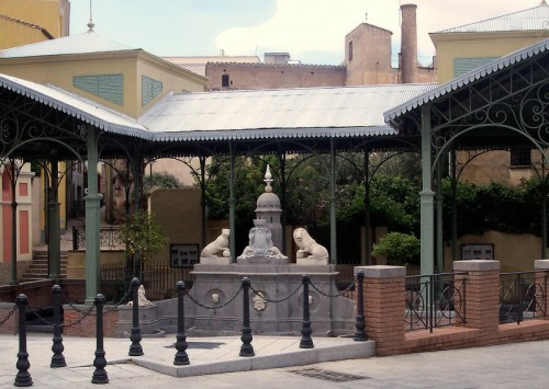 Villacidro - - la fontana del lavatoio -