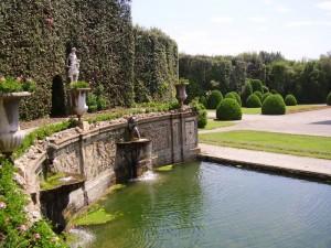 Particolare del parco di Villa Reale di Marlia