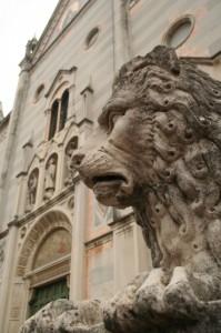 Il leone e la Basilica