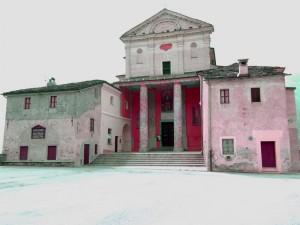 Santuario di Sanmagno visto dall'alto