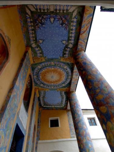 Castelmagno - Ingresso santuario di Sanmagno