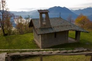 Cappella dei Caduti curata dal Gruppo Alpini