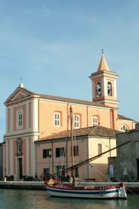 chiesa sul molo di cesenatico
