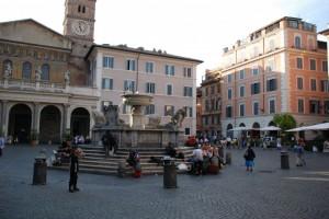Fontana di S. Maria in Trastevere