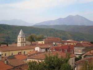 Il campanile di San Severino Lucano