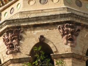 """presenze """"inquietanti"""" sul campanile della cattedrale di Oristano"""