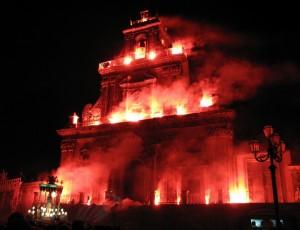 Chiesa di S.Sebastiano infuocata per la festa