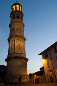 Il campanile al tramonto