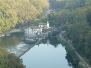 Chiesa vista dal Ponte di Paderno