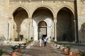 Portico del Duomo di Cefalù