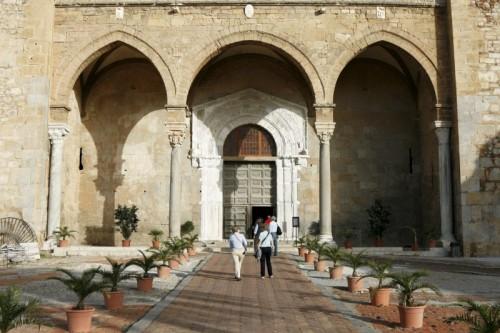 Cefalù - Portico del Duomo di Cefalù