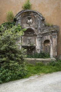 Fontana in abbandono