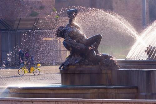 Roma - republic plaza, Roma