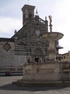 il duomo e la sua fontana