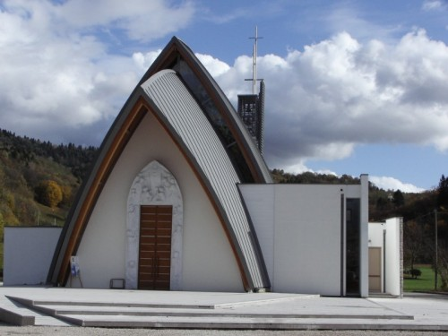 Sedico - La Chiesa oggi (Santa Maria del Cammino a Mas di Sedico)