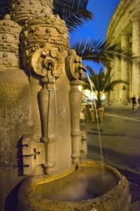 La Fontana delle Tiare - particolare