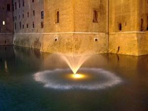Ferrara: fontana del castello
