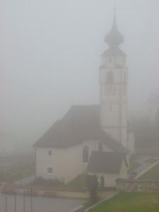 preghiere nella nebbia