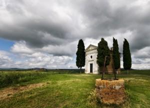 Cappella di Vitaleta Toscana