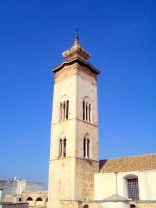 """Torre del campanile """" chiesa Santa Maria della Colonna"""""""