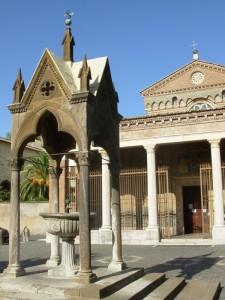Nell'Abbazia di S.Nilo