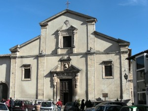 Chiesa del Convento di San Francesco - Castelvecchio Subequo (AQ)