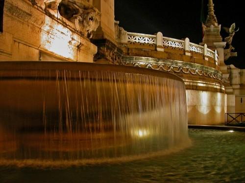 Roma - Notturno al Vittoriano
