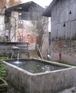Fontana tra i Murales