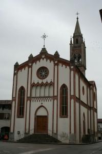 La chiesa di Rizzolo