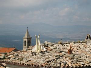 Torre Alfina : il sacro e il profano