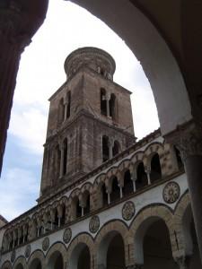 Il campanile della Cattedrale di Salerno