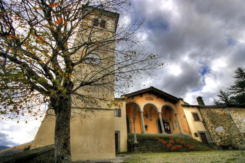 ''Chiesa parrocchiale di Castelluccio - Porretta Terme - (BO).'' - Porretta Terme
