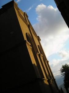 Particolare del Duomo di Pienza