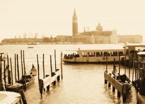 San Giorgio Maggiore, un giorno qualsiasi negli ultimi 500 anni…