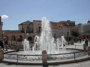 fontana a Matera