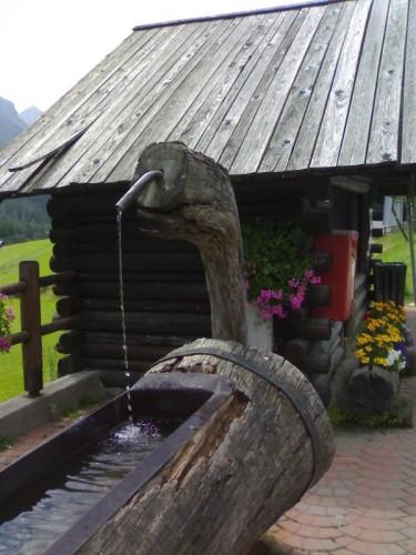 Sappada - fontana a Sappada