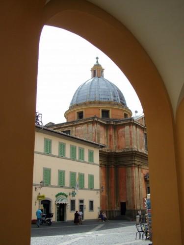 Castel Gandolfo - Scorcio di San Tommaso da Villanova