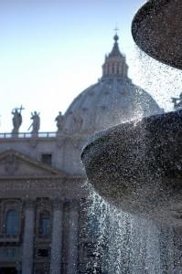 Fontana a Piazza San Pietro