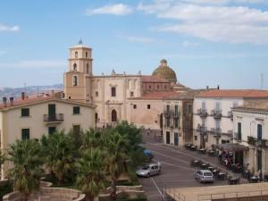Veduta della Cattedrale e del Battistero