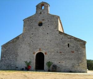 chiesa di monte d'elio - vista frontale