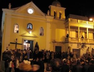 chiesa dell'addolorata un venerdì santo
