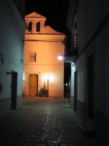 chiesa di san giorgio by night