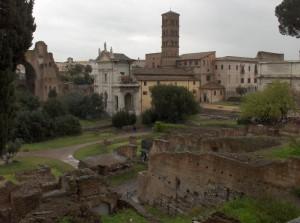 Ombre sul Foro  Romano