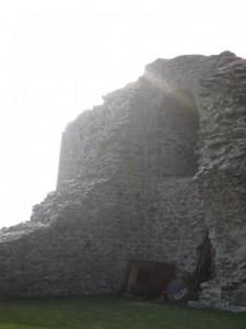 Tramonto tra le rovine