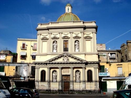 Napoli - Santa Croce e Purgatorio al Mercato. Napoli