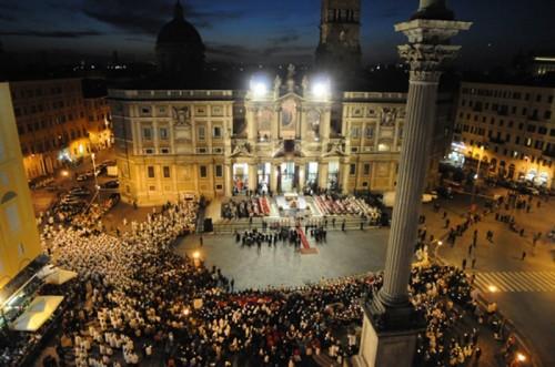 Roma - Basilica di Santa Maria Maggiore: ricorrenza del Corpus Domini