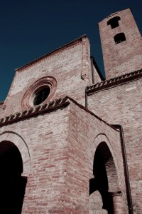 Facciata Chiesa di S. Maria di Propezzano