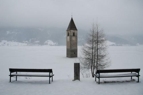 Curon Venosta - Gelido soffio d'inverno