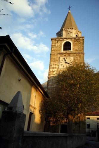 San Dorligo della Valle-Dolina - Campanile della chiesa di Bagnoli della Rosandra